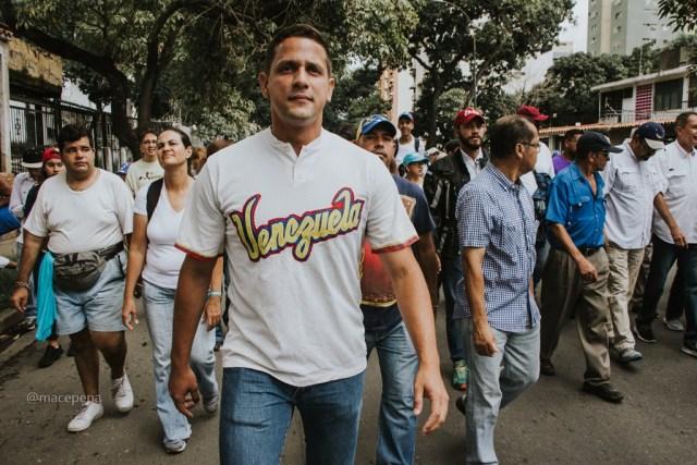 Javier Chirinos, coordinador de Vente Venezuela en Distrito Capital