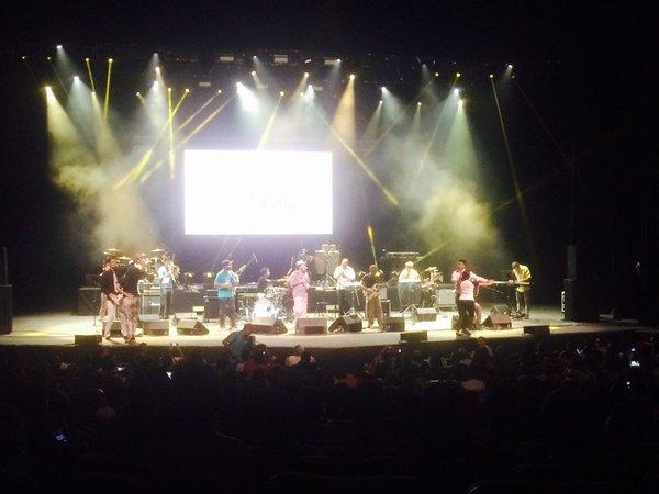 La agrupación se presentó en el festival Suena Caracas de 2015 (Foto: @luchaalmada)