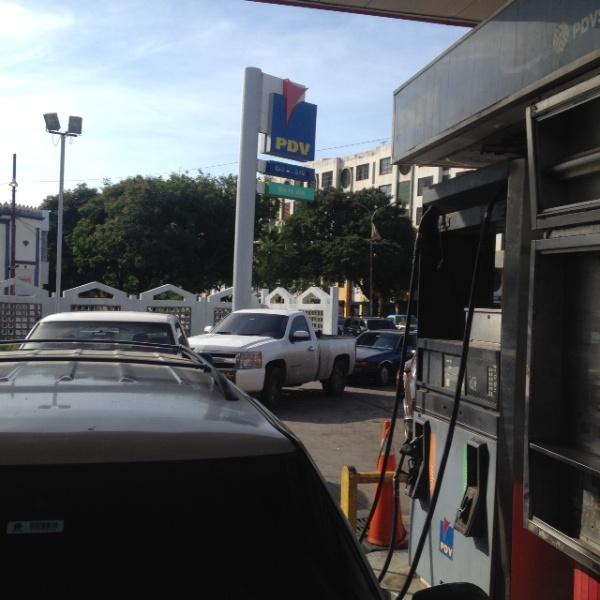 Colas gasolina Maracaibo 20Mayo