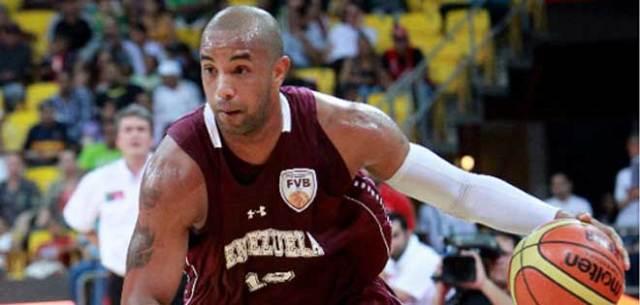 """El capitán de la selección venezolana de baloncesto José """"Grillito"""" Vargas (Foto: Cortesía)"""