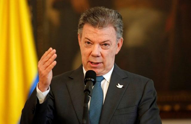 Presidente de Colombia Juan Manuel Santos / Foto REUTERS/Jaime Saldarriaga