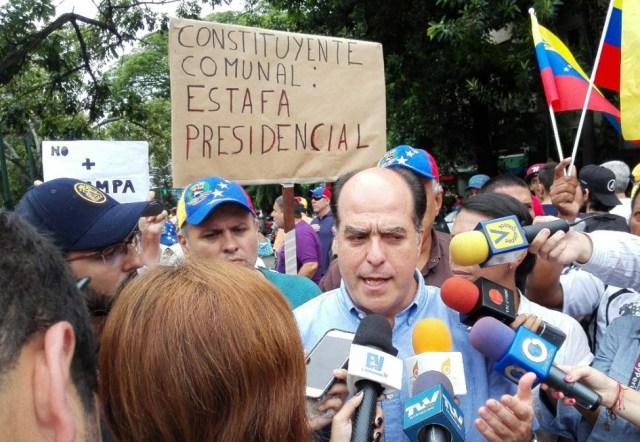 Julio Borges, diputado y presidente de la Asamblea Nacional / Foto @JulioBorges