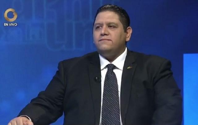 Luis Emilio Rodón, rector principal del CNE / Foto captura de tv