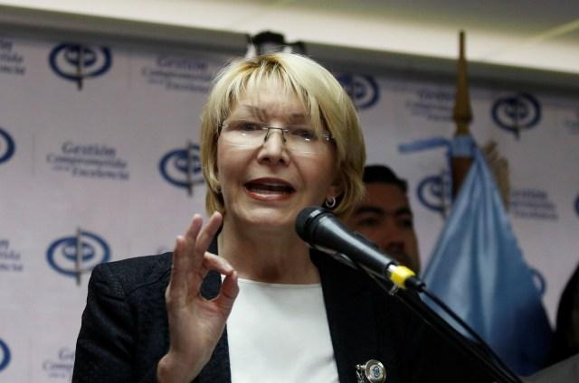Luisa Ortega Díaz, Fiscal General de la República / Foto REUTERS/Marco Bello