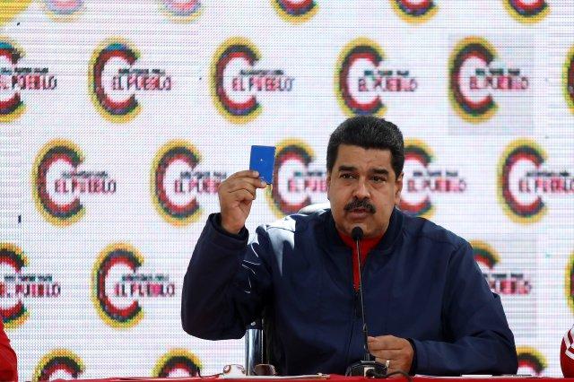 El presidente de la República, Nicolás Maduro. REUTERS/Marco Bello