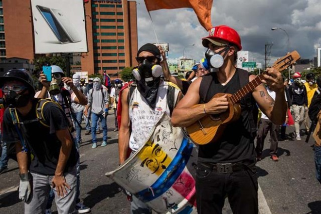 En Venezuela no se ha perdido la esperanza... Estas FOTOS lo demuestran. EFE
