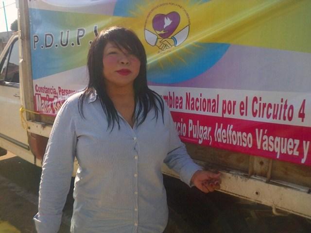 María Bolívar invita a los venezolanos a completar el 0.5% que requiere el Pdupl