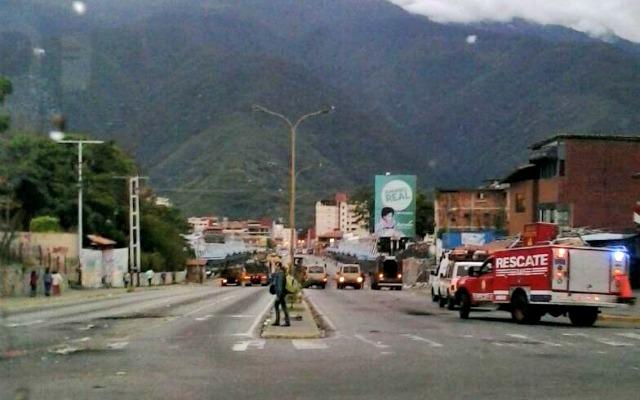Foto: La GNB y PoliMérida realiza limpieza en Mérida / Leonardo León