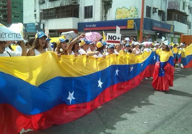 Mujeres contra la represión en Barinas este #6May / Foto @JUANPCD