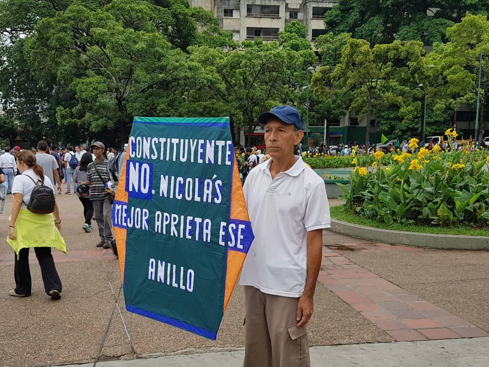 Mensaje del Señor del Papagayo a Nicolás Maduro este #3May / Foto @PeriodistaAlejo ?