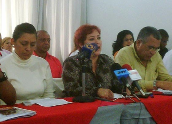 Ana Yánez, miembro de Unete (Foto: Prensa Unete Caracas)