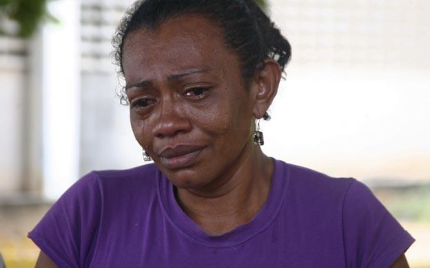 La madre de la víctima lloró al recordar el rostro carbonizado de su hija. (Foto: Merietzeth Ballesteros)