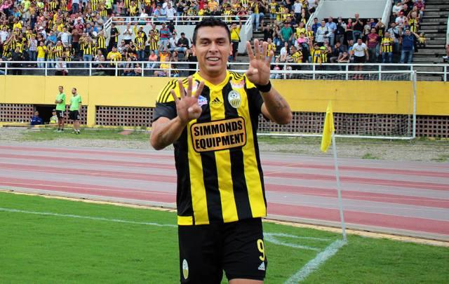 El paraguayo Víctor Aquino (Foto: eluniversal.com)