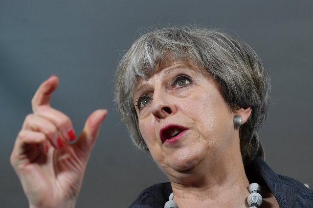 La primera ministra británica, Theresa May (Foto: Reuters)