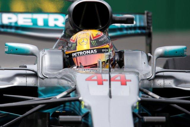 El piloto británico de la escudería Mercedes, Lewis Hamilton (Foto: Reuters)
