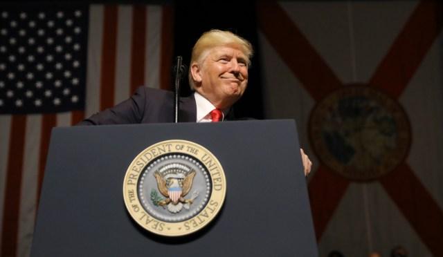 El presidente de EEUU, Donald Trump. REUTERS/Carlos Barria