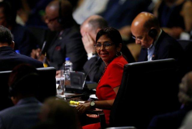 La Canciller de la República, Delcy Rodríguez (Foto: Reuters)