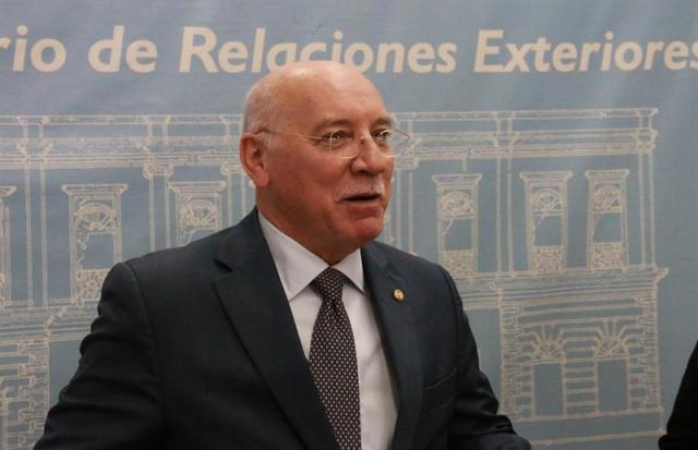 El canciller paraguayo, Eladio Loizaga. Foto: EFE