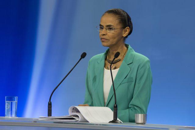 La excandidata presidencial brasileña, Marina Silva . EFE/Sebastião Moreira