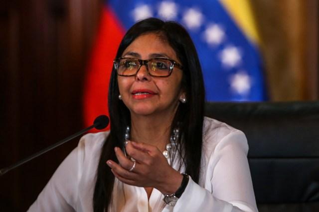La Canciller de la República, Delcy Rodríguez (Foto: EFE)