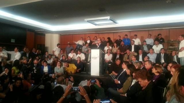 Presidente de la Asamblea Nacional, Julio Borges, presenta nuevas acciones de la MUD