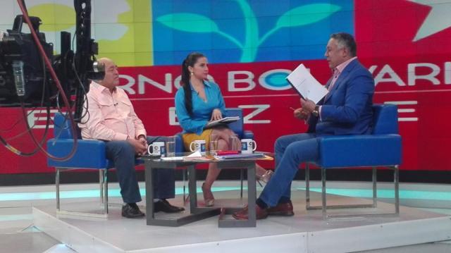Diputado Pedro Carreño participa en programa del canal del Estado, 6 de junio de 2017