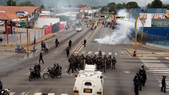Represión Mérida 5junio
