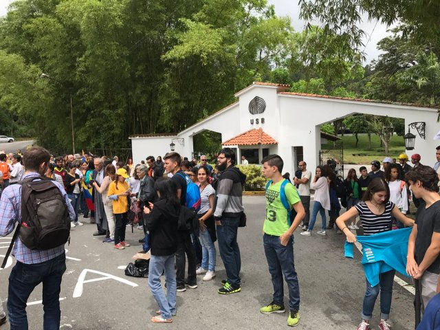 Universidad Simón Bolívar en Sartenejas / Foto Archivo
