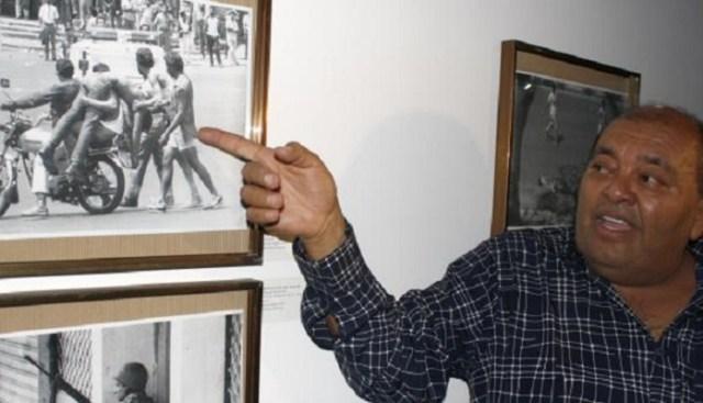 """Francisco Solórzano """"Frasso"""", fotógrafo y ahora conductor de un programa de entrevistas en VTV / Foto armandolveira.blogspot.com"""