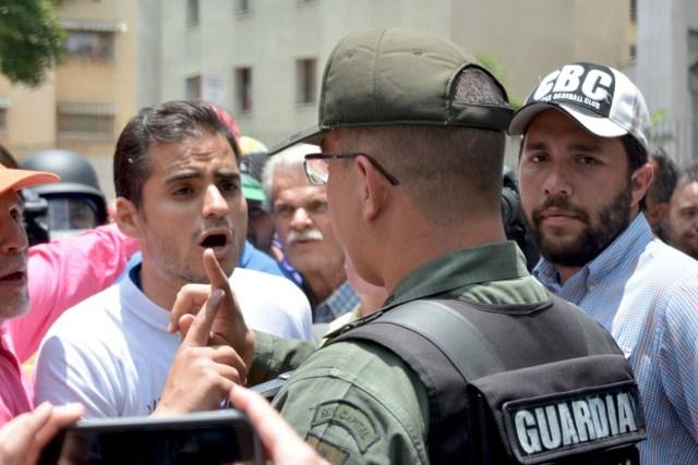 El diputado y vicepresidente de la Comisión de Seguridad y Defensa de la Asamblea Nacional, Armando Armas