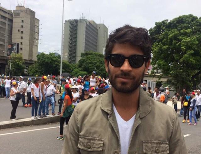 El periodista venezolano Javier Tovar. Foto: Nota de prensa