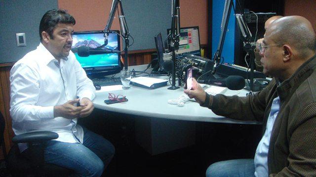 Roberto Marrero, dirigente de VP. Foto: Unión Radio