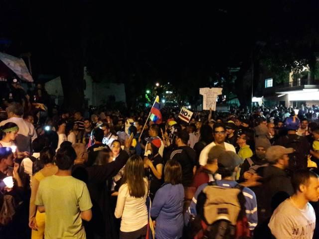 Marcha en la sede la OEA. Foto: Eduardo de la Concha /lapatilla