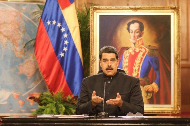 Foto: El presidente de la República, Nicolás Maduro / Despacho Presidencia