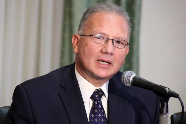 Perkins Rocha, exmagistrado de la Corte Suprema de Justicia   Foto: Bárbara Peña