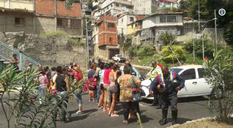 Foto: Protesta en la avenida Soublette de Vargas / Jose Manuel Olivares