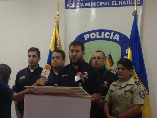 El Alcalde del municipio El Hatillo David Smolansky,