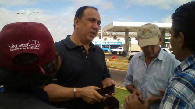 Foto: Tony Geara pide mayor participacio?n en la calle / Prensa