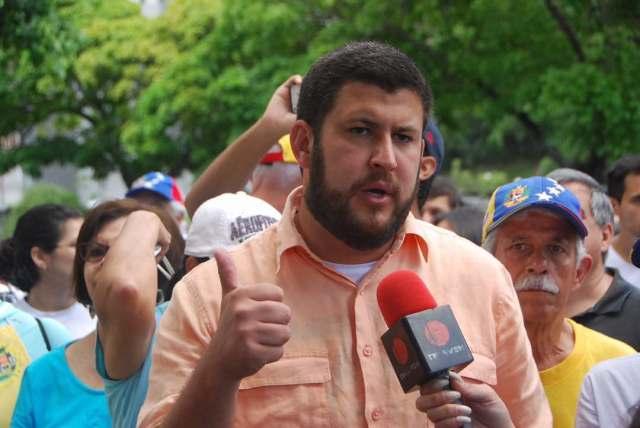 Alcalde de El Hatillo David Smolansky