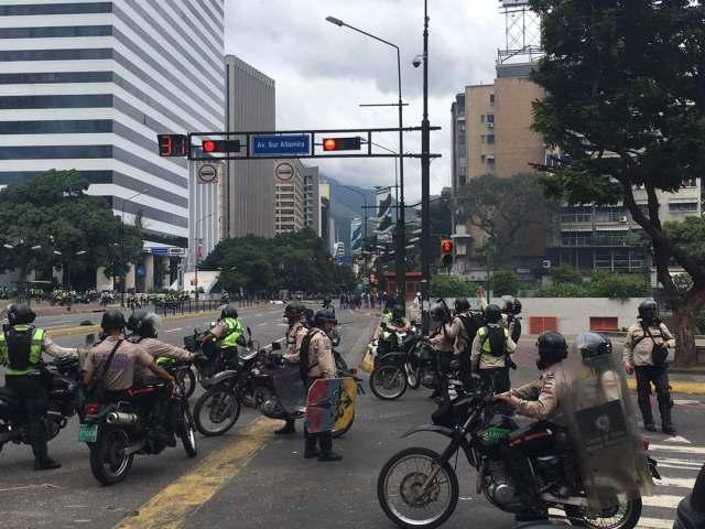 PNB en adyacencias de Altamira. Foto: Esteninf Olivares