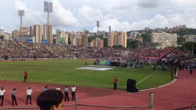 Estadio Olímpico de la UCV (Foto: @VirginiaZamora)