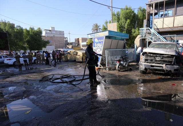 Atentado en Kerbala / Foto REUTERS