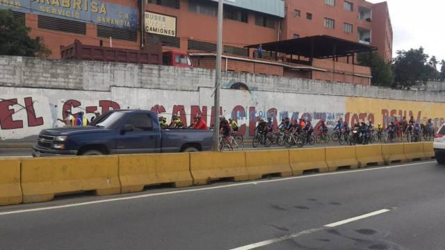 @FabioLValentini Los manifestantes recorrieron varias calles de la ciudad