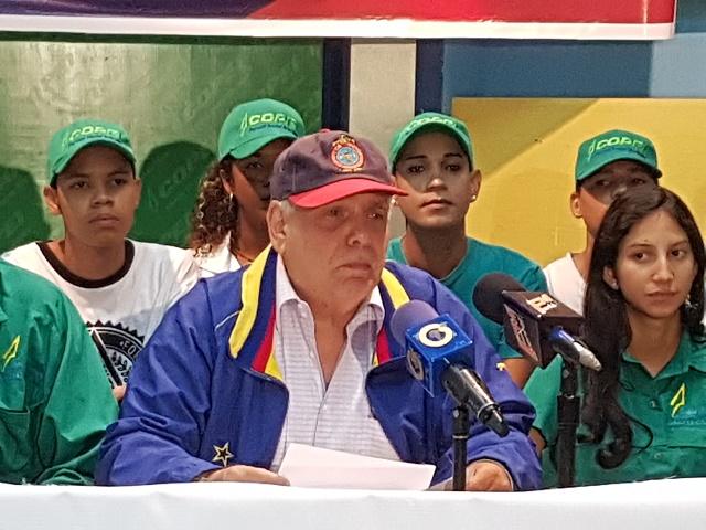 Enrique Mendoza, coordinador Nacional de validación del partido Social Cristiano COPEI // Foto Prensa