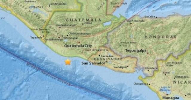 Sismo en Guatemala se sintió en El Salvador // Foto El Comercio