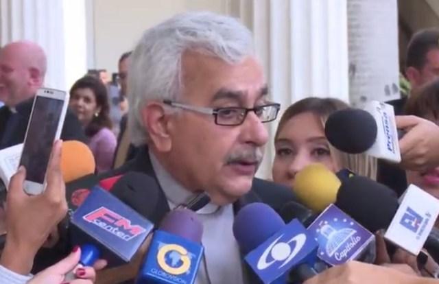 José Virtuoso, rector de la Ucab / Foto captura tv