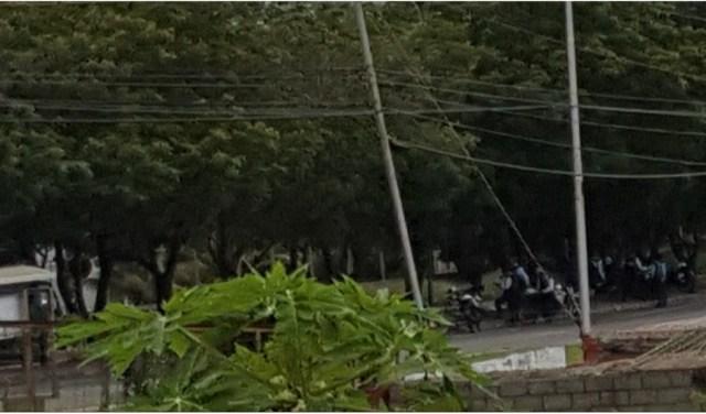 Represión de la GNB en Club Hípico Las Trinitarias en Barquisimeto, estado Lara / Foto @nieves_nubia