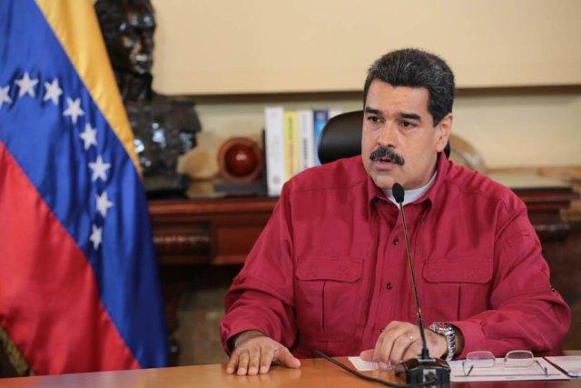 El presidente Nicolás Maduro (Foto: @PresidencialVen)