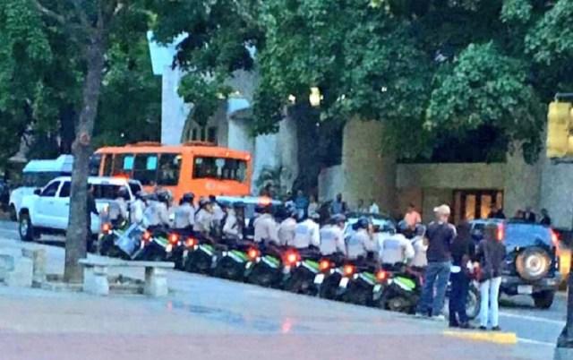 PNB en la Plaza Altamira este 5 de junio / Foto @margaratoledo