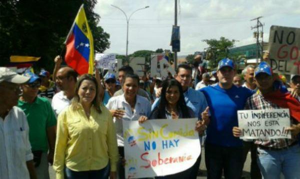Foto: Agricultores de Aragua protestaron por el derecho a la alimentación / Mariela Magallanes